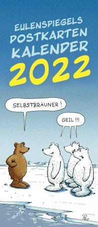 Eulenspiegels Postkarten Kalender 2022