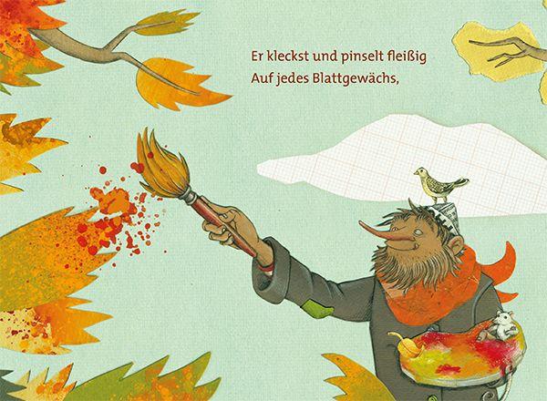 Der Herbst steht auf der Leiter - Eulenspiegel